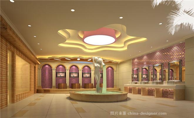 洗浴设计|东方威尼斯国际娱乐水城-富鸿装饰的设计师家园-桑拿,洗浴,休闲会所