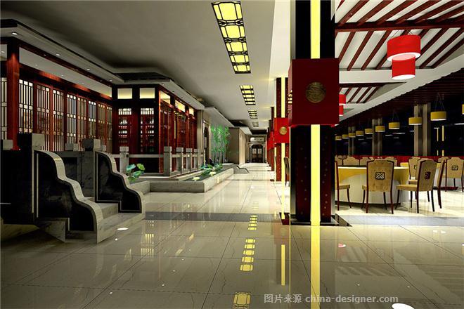 餐饮设计|第一楼旗舰店-武禹甫的设计师家园-中餐厅/中餐馆