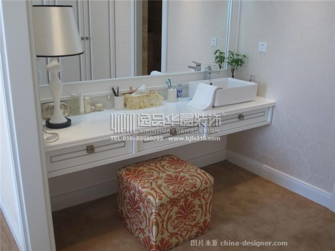 青岛天泰3021样板间-北京逸品华晟装饰工程设计有限公司的设计师家园-现代欧式,住宅公寓样板间