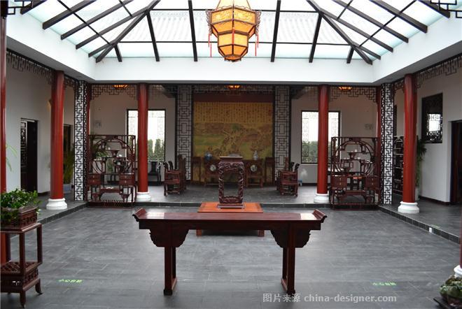霸州市金亨会馆-李雪峰的设计师家园-新中式,休闲会所