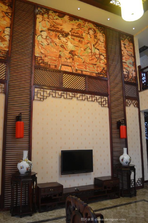 霸州金亨会馆南北配楼-李雪峰的设计师家园-新中式,独栋别墅
