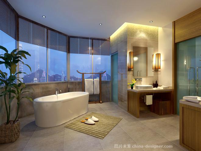 某集团董事长别墅雅居-海南原语设计咨询有限公司的设计师家园-四居及以上