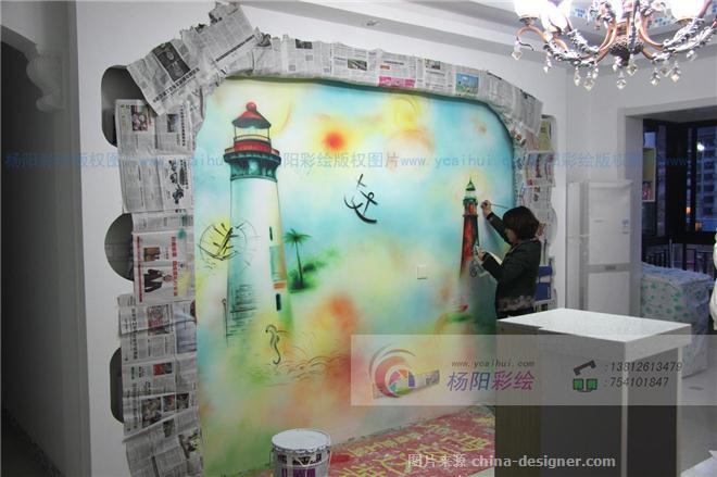 苏州地中海风格墙体彩绘-领峰花园彩绘案例-苏州手绘墙的设计师家园