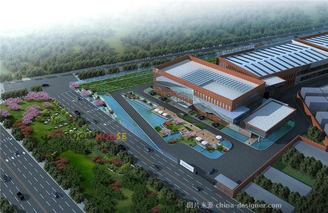 功力机械制造新工厂设计-邵红升的设计师家园-工厂厂区