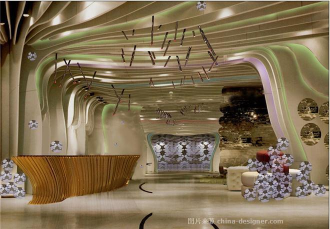娱乐夜场设计|阿玛尼夜总会-富鸿装饰的设计师家园-夜总会
