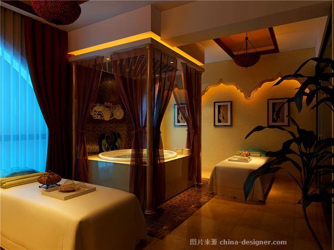 高级美容会所SPA―东南亚风格-李小刚的设计师家园-东南亚风格,水疗/SPA