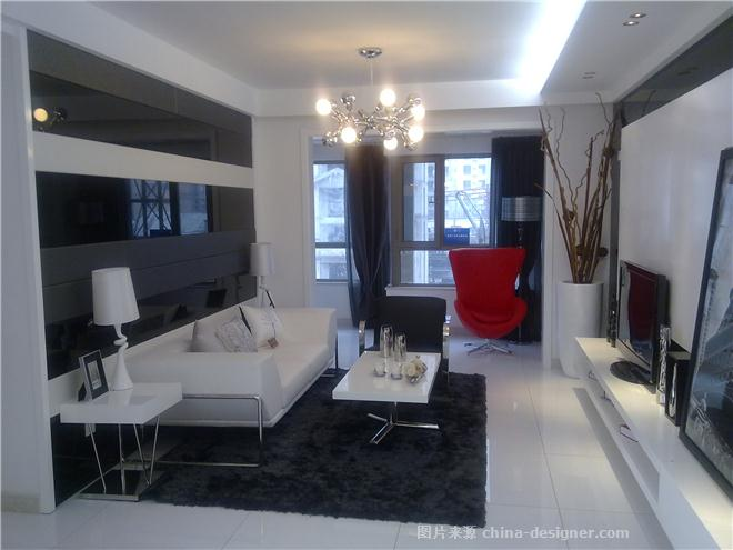 山西太原--现代样板间设计方案-孔令军的设计师家园-现代简约,住宅公寓样板间