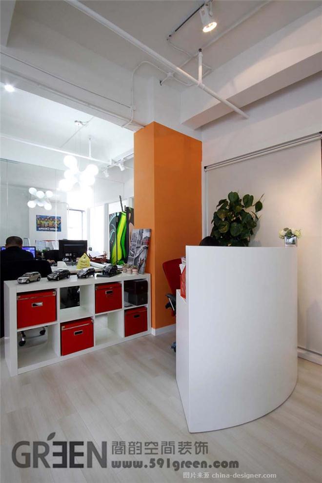潘朵文化传播有限公司-上海阁韵空间装饰的设计师家园-现代简约,soho,办公区,办公室