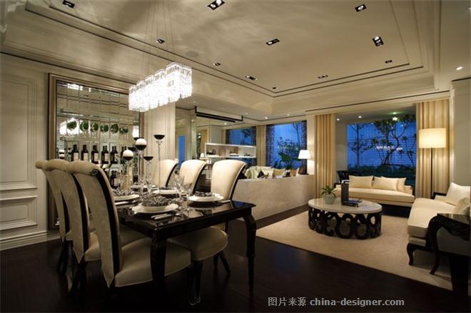 杭州绿城桃花源别墅-刘鹏的设计师家园-现代欧式,空中别墅