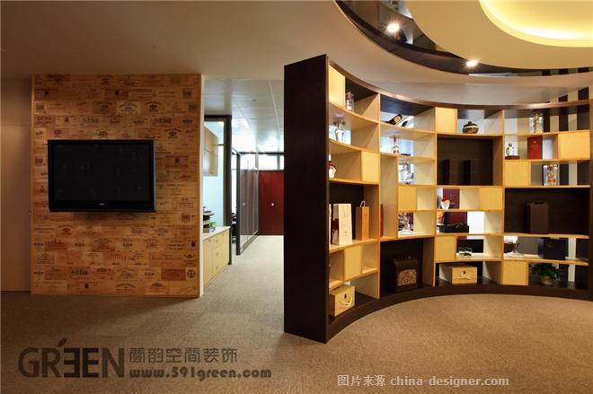 捷昊酒业-上海阁韵空间装饰的设计师家园-办公楼