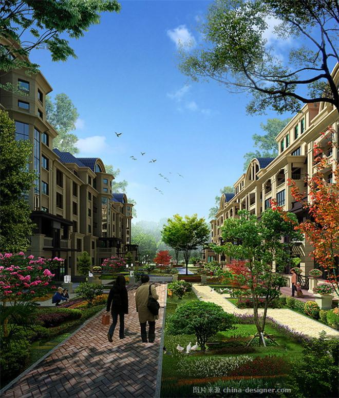 橄榄城-万泉智的设计师家园-田园风格