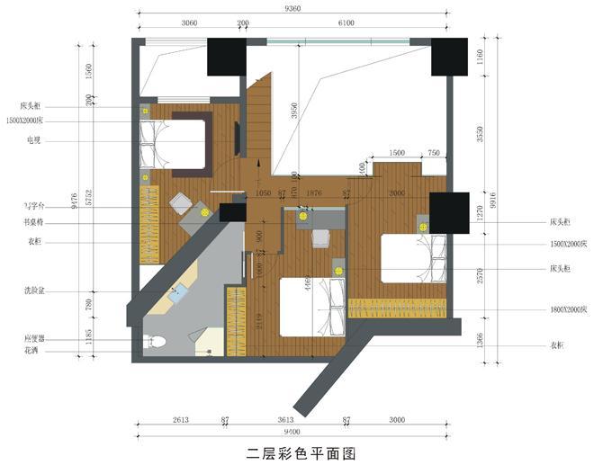 海口富丽花园样板房室内设计-海南原语设计咨询有限公司的设计师家园-住宅公寓样板间;现代简约