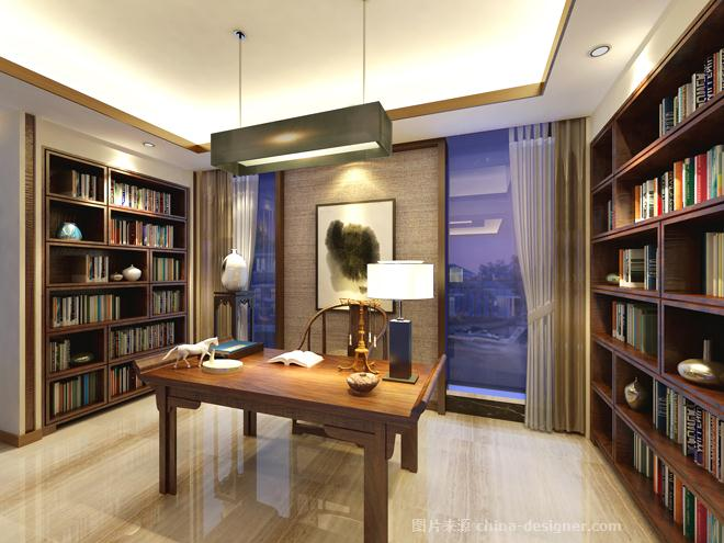 海口禧福新城雅居-海南原语设计咨询有限公司的设计师家园-跃层