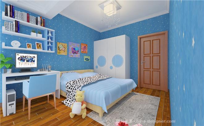 中式风格,韵味十足-北京元洲装饰有限责任公司的设计师家园-新中式,卧室,儿童房,餐厅,客厅,三居