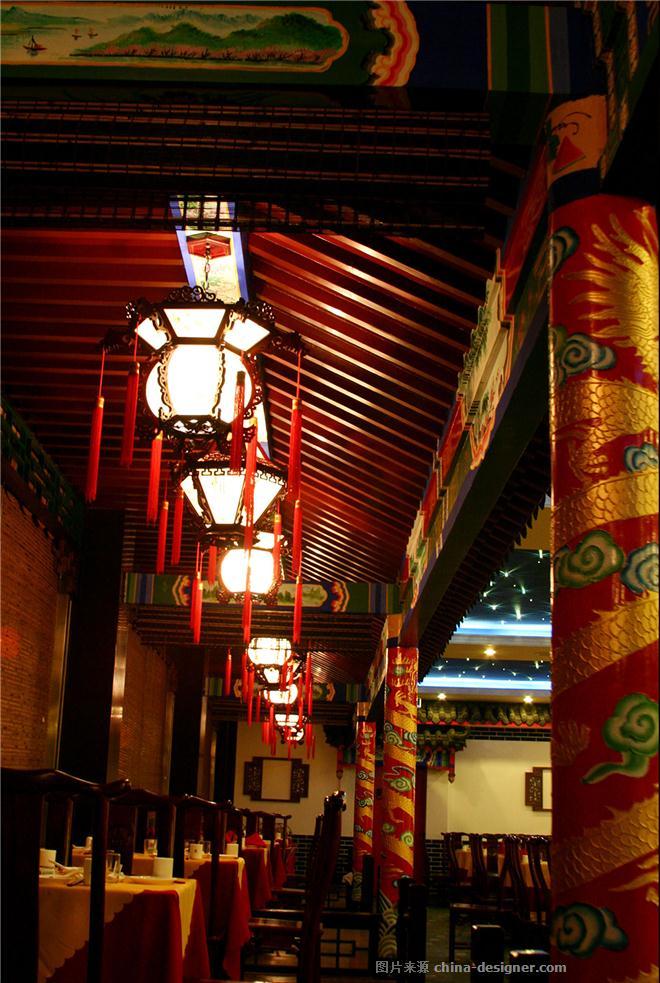 """最佳陈设奖项-我的""""中国风""""-张东宝的设计师家园-传统中式,中餐厅/中餐馆"""