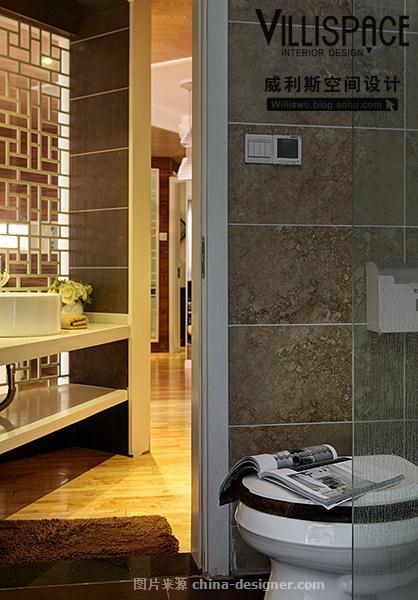 苏州88平米公寓现代奢华实景《尚.静》-巫小伟的设计师家园-二居,新中式
