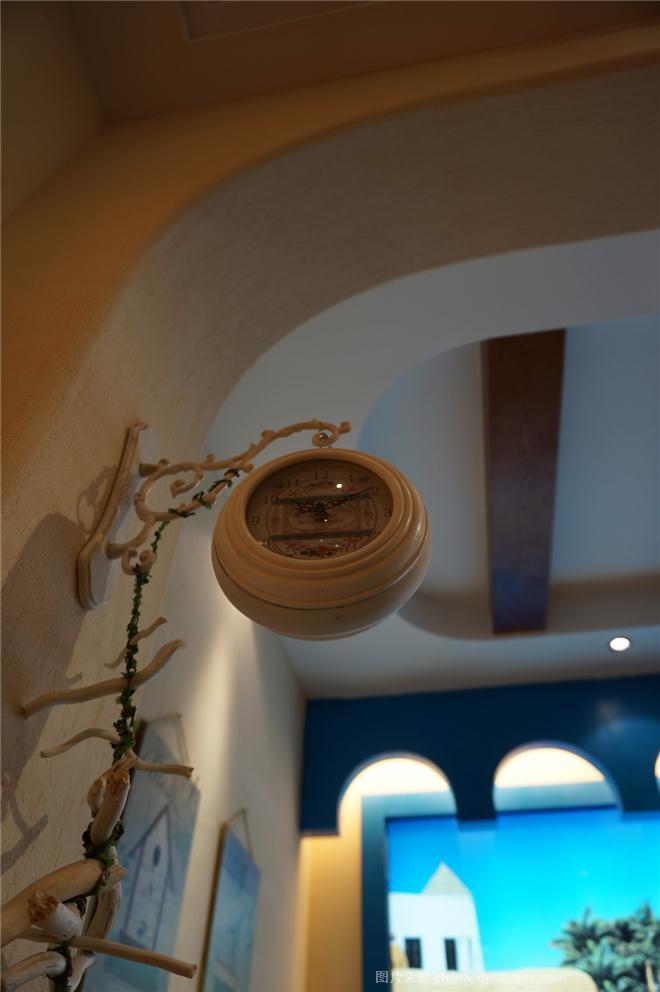 【格林小镇】――盛世皇磁陶瓷佛山营销中心-陈效东的设计师家园-其他                                                                                                ,地中海,简约大气,青春活力,沉稳庄重,闲静轻松,棕色,蓝色,白色