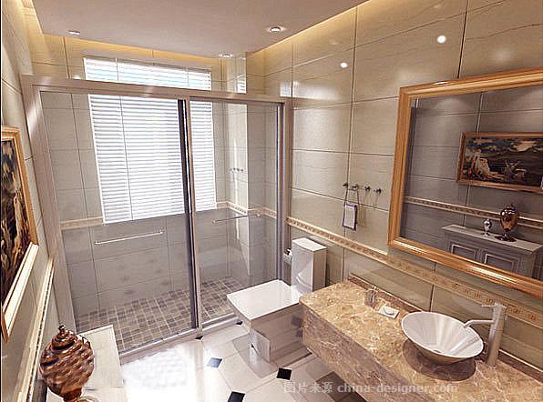 欧式风格效果图-北京元洲装饰有限责任公司的设计师家园-古典欧式,儿童房,卧室,餐厅,客厅,三居