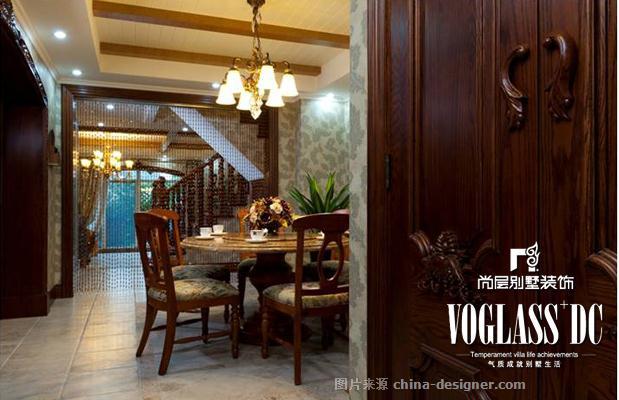 成都尚层设计案例――中海城南一号-尚层装饰尚层别墅装饰北京杭州天津成都苏州有限公司的设计师家园-美式,四居及以上