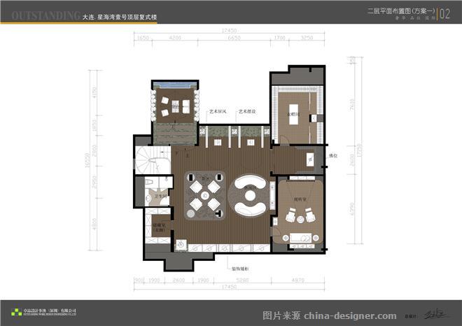 项目名称:大连星海湾-李智辉的设计师家园-别墅样板间