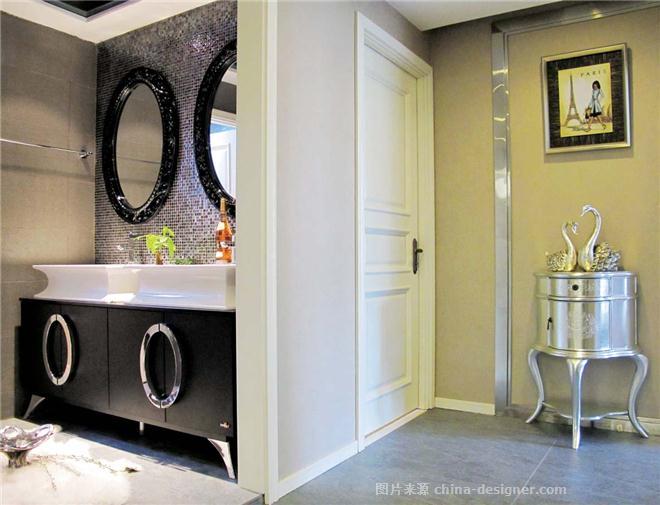 茉莉苑-上海兆庭建筑装饰工程有限公司的设计师家园-现代简约,后现代主义,客厅,二居