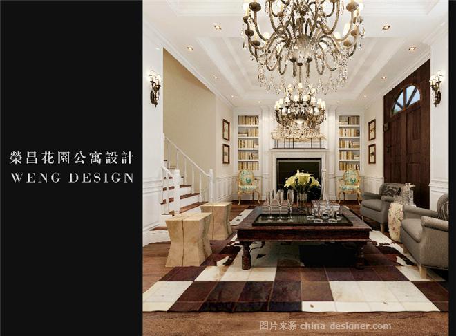 漳州荣昌花园楼中楼设计-翁德的设计师家园-复式