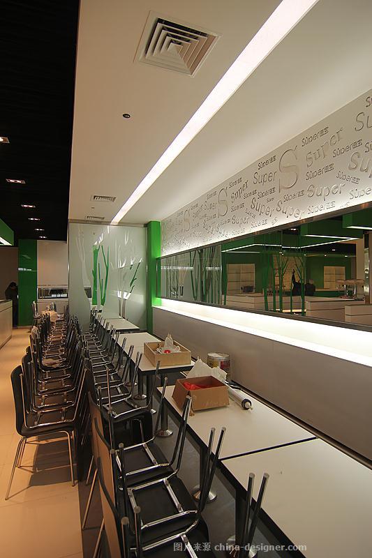 速宝快餐-省医营养餐厅-万泉智的设计师家园-现代简约,快餐厅