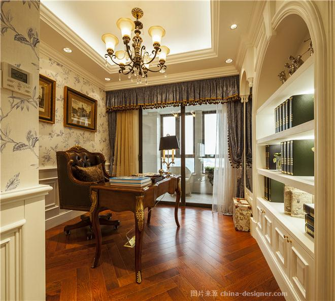南京凤凰熙岸复式样板房-谢瑞雪的设计师家园-古典欧式