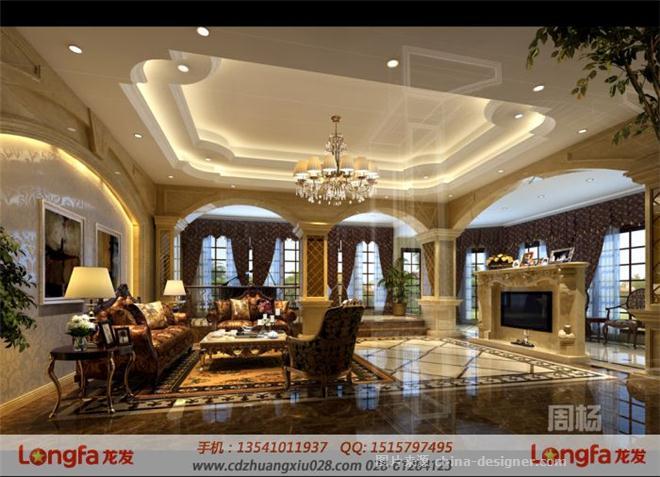 草堂之春别墅欧式风格-成都别墅装修公司的设计师家园-古典欧式,玄关
