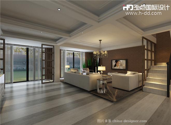 新疆欧式样板房-谢芳勇的设计师家园-欧式,现代简约,泓点国际设计