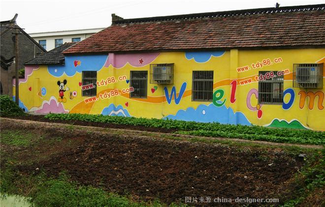幼儿园墙面喷画壁画装饰图