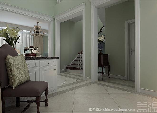 堡别墅装修效果图-天津锐林装饰的设计师家园-后现代主义,北欧风格图片