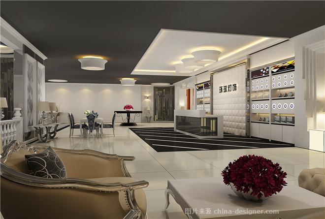 山东淄博展厅效果图-理想空间设计机构的设计师家园-展台,画廊,展示
