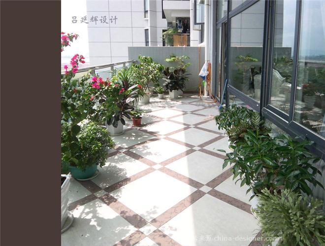 都市时尚风景观阳台吕延辉设计