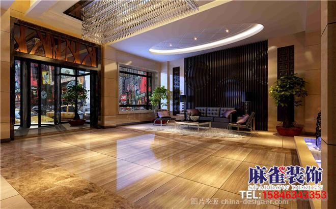 哈尔滨宾馆装修设计 首选麻雀装饰公司-哈尔滨办公室装修公司 麻雀