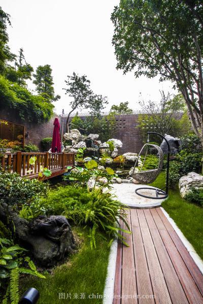 万科西岭别墅-张盛的设计师家园-新中式,联排别墅