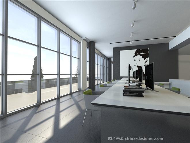 现代简约办公空间-袁世平的设计师家园:::袁世平的师