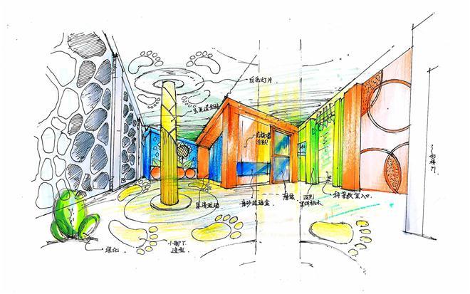 幼儿园-张久鹏的设计师家园-无