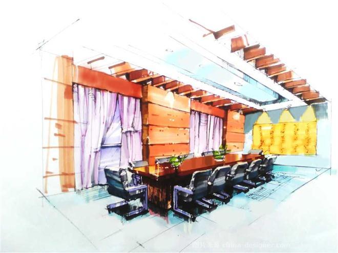 210设计工作室-李梦良的设计师家园-办公室图片