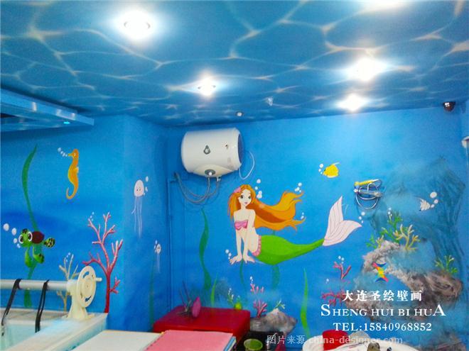 大连手绘墙彩绘墙画壁画墙体彩绘