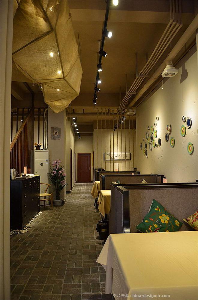 致青春茶餐厅实景照片-李冰工作室的设计师家园-新中式,中餐厅/中餐馆