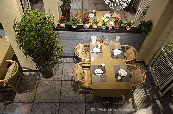 新乡市风和日丽时尚餐厅实景照片-李冰工作室的设计师家园-新中式,中图片