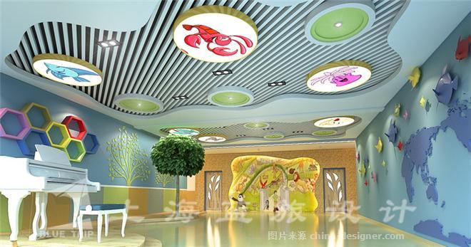 校园文化设计-上海蓝旅装饰设计工程有限公司的设计师家园-小学