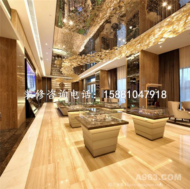 成都售楼部装修设计效果图/欧式风格-四川良美建筑