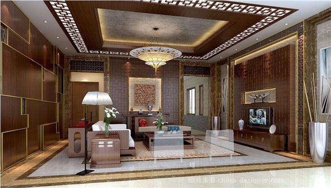 成都高档茶楼装修案例,茶楼装修效果图-刘桥的设计师家园-茶室/茶馆图片