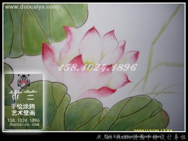 朝阳墙绘公司,朝阳墙体彩绘公司,朝阳手绘墙,朝阳壁画,国画墙绘,牡丹