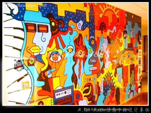 东城手绘墙画 西城彩绘壁画 东城西城墙绘-东城西城墙绘墙体彩绘画的