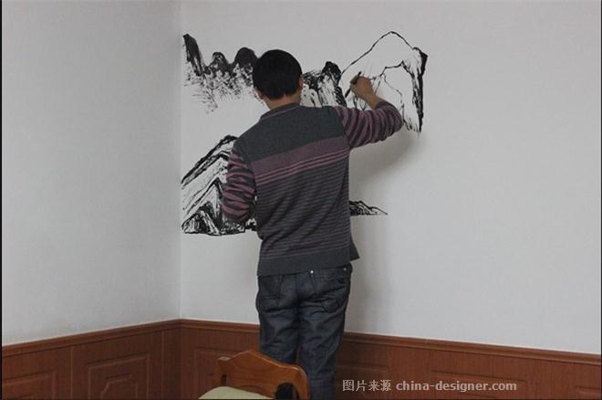 火锅店,自助餐厅,石家庄墙体彩绘装饰,石家庄手绘墙画中餐厅/中餐馆