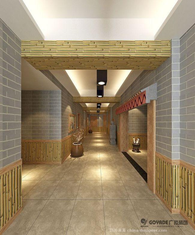 金孔农庄农家乐装修设计效果图-安徽广雅建筑装饰