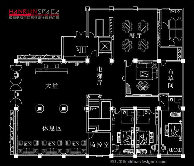 柏瑞假日酒店室内设计-成都宏润空间装饰设计有限公司的设计师家园-度